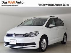 VW ゴルフトゥーランTSI コンフォートライン LEDヘッドライト 純正ナビ
