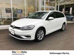 VW ゴルフヴァリアントTSI Comfortline VW認定中古車 +Navi