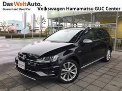 VW ゴルフオールトラックTSI アップグレード 1オーナー 四駆 革シート 純正ナビ