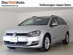 VW ゴルフヴァリアントTSI Comfortline 認定中古車 SDナビ ACC