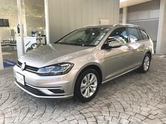 VW ゴルフヴァリアントTSI Comfortline VW認定中古車 7.5
