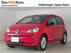VW アップ!with beats 4D デモカー 禁煙 DWA認定中古車