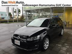 VW ゴルフヴァリアントハイライン 1オーナー 純正ナビ バックカメラ ETC