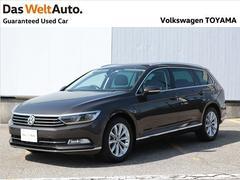 VW パサートヴァリアントTSI Eleganceline Demo Car 純正ナビ