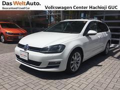 VW ゴルフヴァリアントTSIハイライン 追従クルーズC・ナビ・Rカメラ 認定中古車