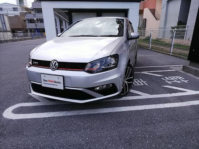 沖縄の中古車 フォルクスワーゲン VW ポロGTI 車両価格 200万円 リ済別 2016(平成28)年 1.7万km リフレックスシルバー M