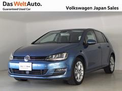 VW ゴルフTSI HighlineBMT 認定中古車 SDナビ ACC