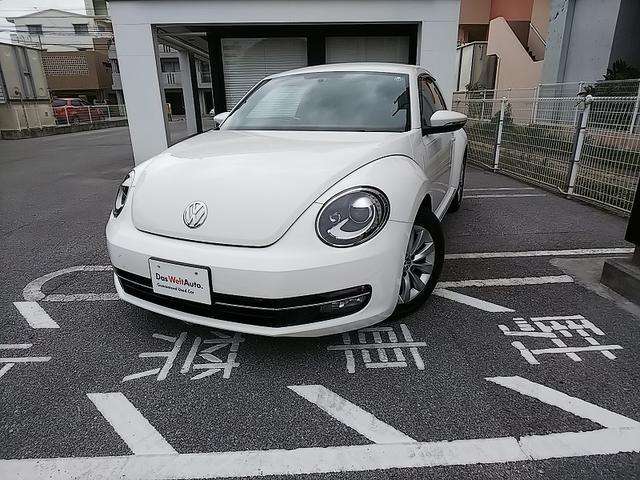沖縄の中古車 フォルクスワーゲン VW ザ・ビートル 車両価格 140万円 リ済別 2012年 2.2万km キャンディホワイト