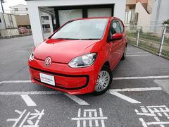 沖縄の中古車 フォルクスワーゲン VW アップ! 車両価格 90万円 リ済別 2015年 3.5万K トルネードレッド