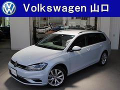 VW ゴルフヴァリアントハイライン 前車追従機能 地デジナビ リヤカメラ 新車保証