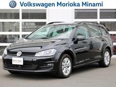 VW ゴルフヴァリアントTSI Comfortline ワンオーナー ナビTV