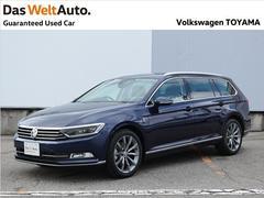 VW パサートヴァリアントTSI Highline Demo Car デジタルメーター