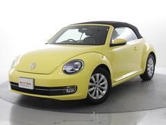 VW ザ・ビートル・カブリオレワンオーナー禁煙車本革シートシートヒーター搭載