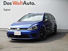 VW ゴルフRヴァリアントR Launch Edition ツートン本革レザー