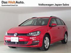 VW ゴルフヴァリアントコンフォートライン ディスカバープロキセノン下取り認定中古車