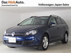 VW ゴルフヴァリアントTSIトレンドラインブルーモーション 社外ナビ 認定中古車