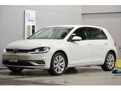 VW ゴルフTSI 7.5 ハイライン TKpkg 黒革 新車保証継承