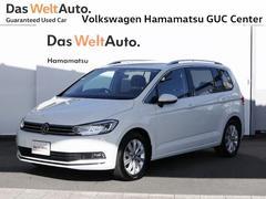 VW ゴルフトゥーランハイライン デモカー 禁煙車 純正ナビ バックカメラ ETC