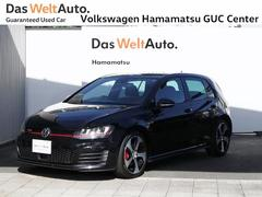 VW ゴルフGTIレザーシート DCC 禁煙車 純正ナビ バックカメラ ETC