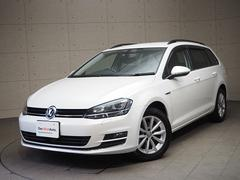 VW ゴルフヴァリアントラウンジ 認定中古車 保証付き