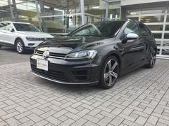 VW ゴルフRフルタイム4駆 純正ナビ ETC バックカメラ付