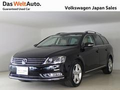VW パサートヴァリアントハイライン ベージュレザー ナビETCワンオーナー認定中古車