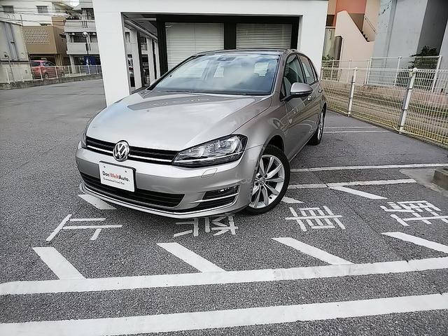 沖縄の中古車 フォルクスワーゲン VW ゴルフ 車両価格 200万円 リ済別 2016年 1.2万km タングステンシルバー M