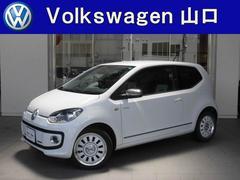 VW アップ!ホワイト アップ 限定車 地デジナビ シートヒーター