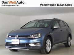 VW ゴルフオールトラックアップグレードPKG 4駆 スマートキー ナビ ACC