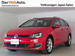 VW ゴルフヴァリアントTSIハイライン ACC ナビ ワンオーナー  認定中古車