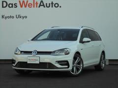 VW ゴルフヴァリアントTSI R−Line ワンオーナー スマートキー ナビTV