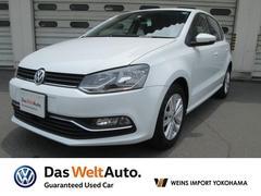 VW ポロTSIコンフォートライン メーカー保証付 認定中古車