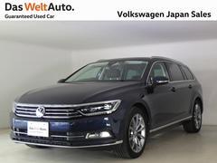 VW パサートヴァリアントハイライン LEDディスカバープロ社用車使用認定中古車