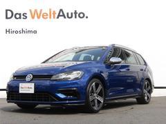 VW ゴルフRヴァリアントデジタルメーター LEDヘッドライト ACC 認定中古車
