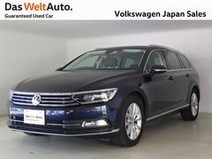 VW パサートヴァリアントエレガンスライン ワンオーナーパワーテールゲート付認定中古車