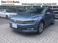 VW パサートヴァリアント禁煙車 ワンオーナー レザーシート 純正ナビ ETC付き