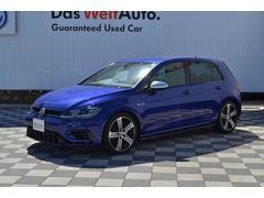 VW ゴルフRベースグレード ブラックレザー 認定中古車