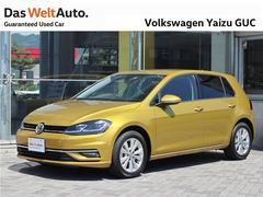 VW ゴルフTSI Comfortline 登録済み未使用車