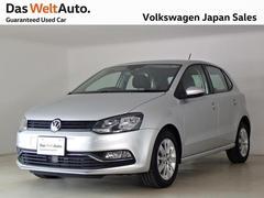 VW ポロコンフォートライン アップグレード ナビ・カメラ 認定中古車