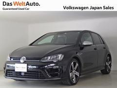 VW ゴルフRR ワンオーナー下取ディスカバープロレザーシート認定中古車