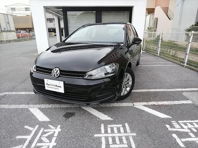 沖縄の中古車 フォルクスワーゲン VW ゴルフ 車両価格 128万円 リ済別 2015(平成27)年 1.9万km ディープブラック PE