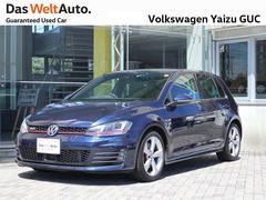 VW ゴルフGTIGTI 1オーナー 禁煙車 純正ナビ 認定中古車