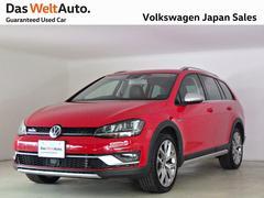 VW ゴルフオールトラックアップグレードPKG ブラックレザー 18AW 認定中古車