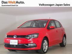 VW ポロHighline 当社デモカー 純正ナビ 禁煙 認定中古車