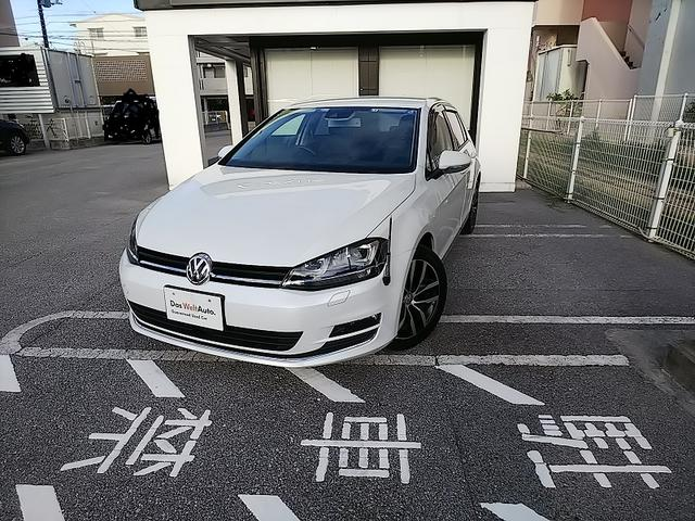 沖縄の中古車 フォルクスワーゲン VW ゴルフ 車両価格 198万円 リ済別 2015年 2.8万km オリックスホワイトMoPE