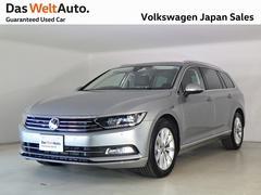 VW パサートヴァリアントTDI エレガンスライン デモカー 今年登録 認定中古車