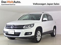 VW ティグアンTSIブルーモーションテクノロジー ワンオーナー 認定中古車