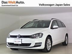VW ゴルフヴァリアントTSI コンフォートライン ナビ ワンオーナー 認定中古車