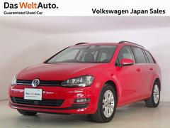 VW ゴルフヴァリアントTSI コンフォートライン 純正ナビ キセノン