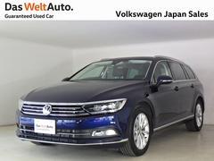 VW パサートヴァリアントTDIエレガンスラインLED ナビ デモカー使用 認定中古車